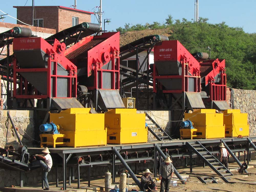 Series CTF Powder Ore Dry Magnetic Separator6
