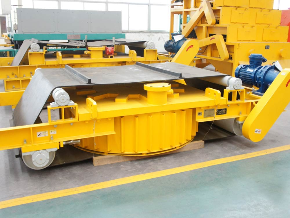 Series RCDD Self-Cleaning Electric Magnetic Tramp Iron Separator4