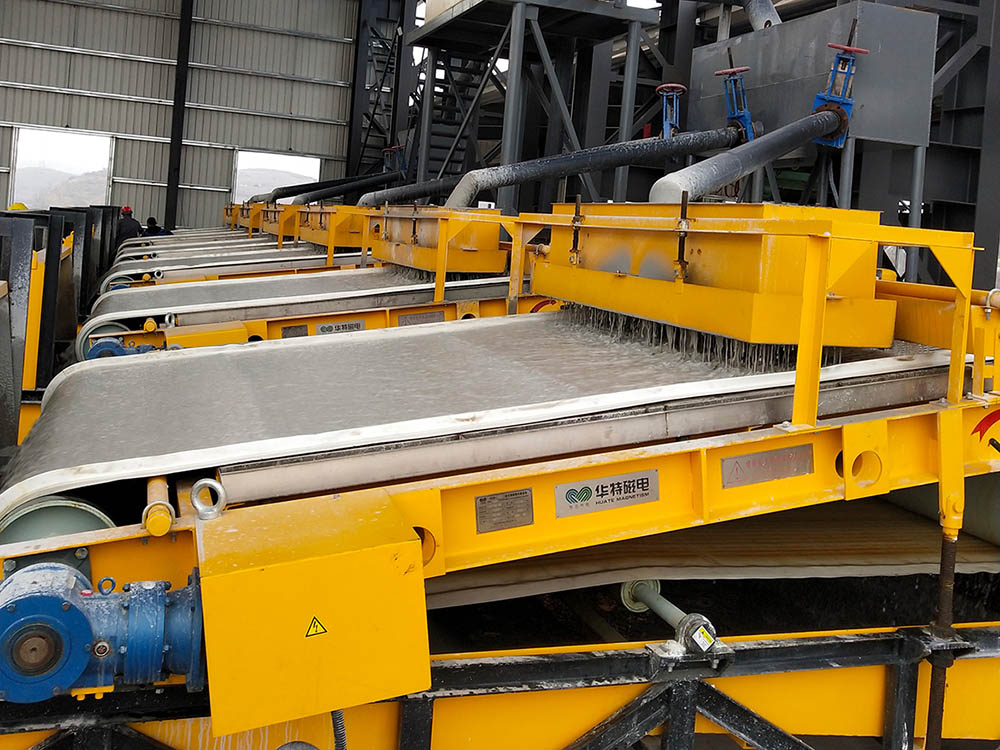 Series SGB Wet Panel Strong Magnetic Separator2